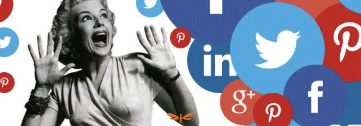 Diseño web y marketing para terapeutas Dflyweb.net Redes sociales, elige las que te convienen