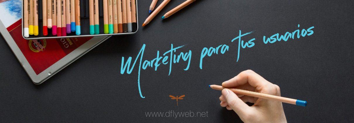 Diseño web y marketing para terapeutas Dflyweb.net Marketing para tus usuarios