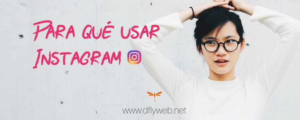 Diseño Web y marketing Dflyweb.net Para que usar Instagram