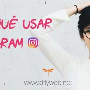 Diseño Web y marketing Dflyweb.net Para que usar Instagram