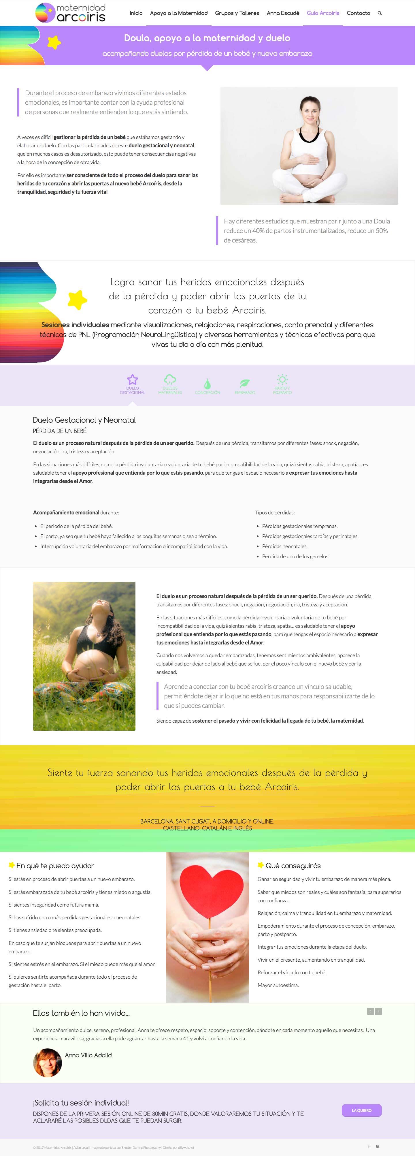 diseño web para terapeutas y coaches